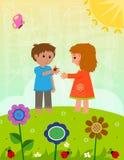 Spring Ladybugs Royalty Free Stock Image