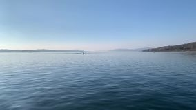 Lake Constance in Germany. Spring lake constance in germany stock video footage