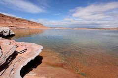 Spring at Lake Powell Royalty Free Stock Photography