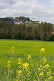 Spring landscape in Bavaria Stock Photography