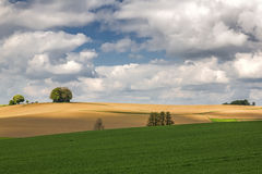 Spring landscape in Bavaria, Germany Royalty Free Stock Photography