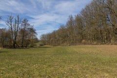Spring landscape in bavaria Stock Photo