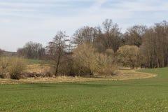 Spring landscape in bavaria Stock Image
