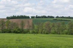 Spring landscape in Bavaria Royalty Free Stock Image