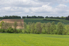 Spring landscape in Bavaria Royalty Free Stock Photos