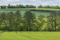 Spring landscape in Bavaria Royalty Free Stock Images