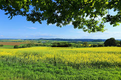 Spring Landscape in Bohemian Paradise, Czech Republic Royalty Free Stock Images