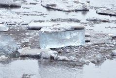 Ice drift Royalty Free Stock Photos