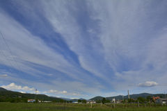Spring Landscape Near Cividale del Friuli Royalty Free Stock Photography