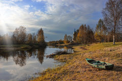 Spring landscape, Russia Stock Photography