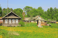Spring landscape, Russia Stock Images