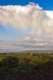 Spring landscape. Tuscany, Italy Royalty Free Stock Photos