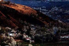 Spring landscape of western Sichuan Stock Image