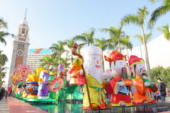 Hong Kong : Spring Lantern Festival 2013 Stock Photos