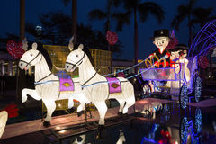 Spring Lantern Festival in Hong Kong Stock Image