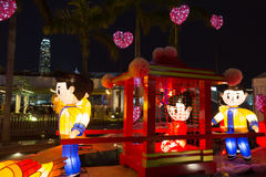 Spring Lantern Festival in Hong Kong Stock Images