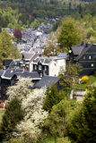 Spring in Lauscha. Spring in a German glassmaker village Stock Photos