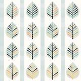 Spring leaf pattern Stock Images