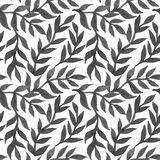 Spring leaves seamless watercolor pattern-model for design of gi Stock Images