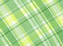 A spring like tartan pattern. Stock Photo