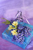 Spring lilac gift Royalty Free Stock Photo