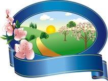 Spring logo Royalty Free Stock Photo