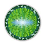 Spring logo Stock Photo
