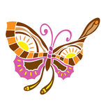 Spring love butterfly Royalty Free Stock Images