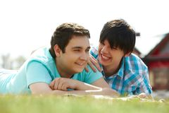 Spring lovers Stock Photography