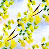 Spring macro seamless texture oil painting on Stock Photography