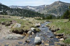 Spring in the Madriu-Perafita-Claror valley Stock Images