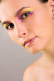 Spring make-up Stock Images