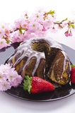 Spring marble cakes Stock Photography