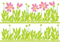 Spring_meadow_pattern Images libres de droits