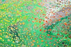 Spring Meadow Abstract. Spring Meadow unique abstract art Royalty Free Stock Images