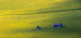 Spring Meadows Pieniny Royalty Free Stock Photo