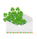 Spring message. Saint Patricks Day. Royalty Free Stock Image