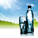 Spring mineral water Royalty Free Stock Photos