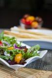 Spring Mix Salad Royalty Free Stock Photos