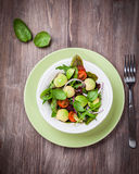 Spring mixed salad Stock Photography