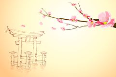Spring in Miyajima Royalty Free Stock Images