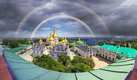 Spring Monastery in Kiev Royalty Free Stock Images