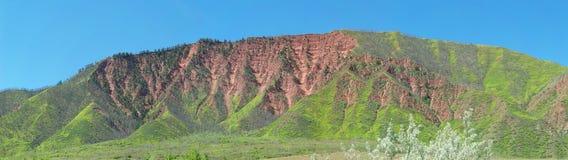 Spring morning in Glenwood Springs Colorado Stock Photography
