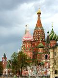 Spring Moscow city landscape.  Well-known monument of Russian architecture stock images