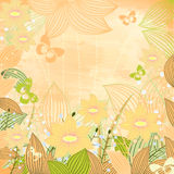 Spring motif Royalty Free Stock Images