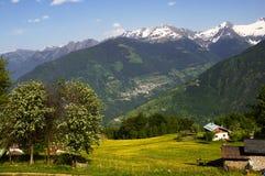 Spring Mountain royalty free stock photo