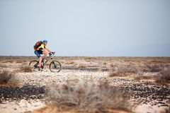Spring mountain bike marathon Stock Photo