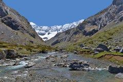 Spring from the mountain cirque d'Estaube Stock Image