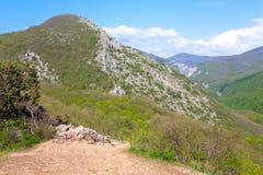 Spring Mountain landscape . Stock Image