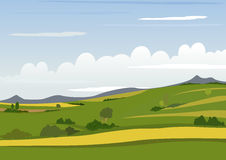 Spring Mountain Landscape Royalty Free Stock Images